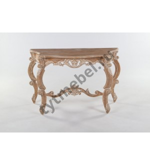CONSOLE HEAVY CARVED Консоль 124х65х78 см, цвет: Ceruse - античный бежевый